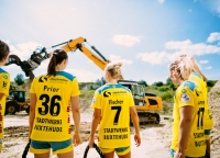 Teamfoto Bundesliga Handball
