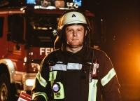Portraet Feuerwehrmann