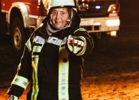 Portrait Feuerwehrfrau