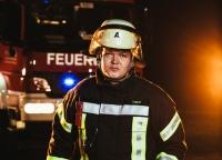 Portrait Feuerwehrmann