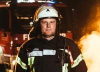 gestandener Feuerwehrmann