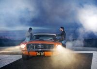 Mustang meets airport