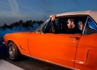 oranger Mustang
